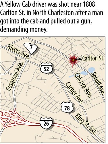 Police: Cab driver shot in arm