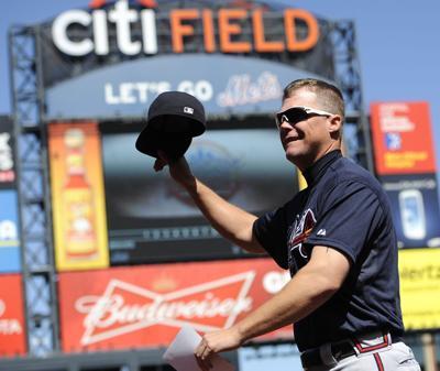 Mets fans bid Jones farewell; Braves win