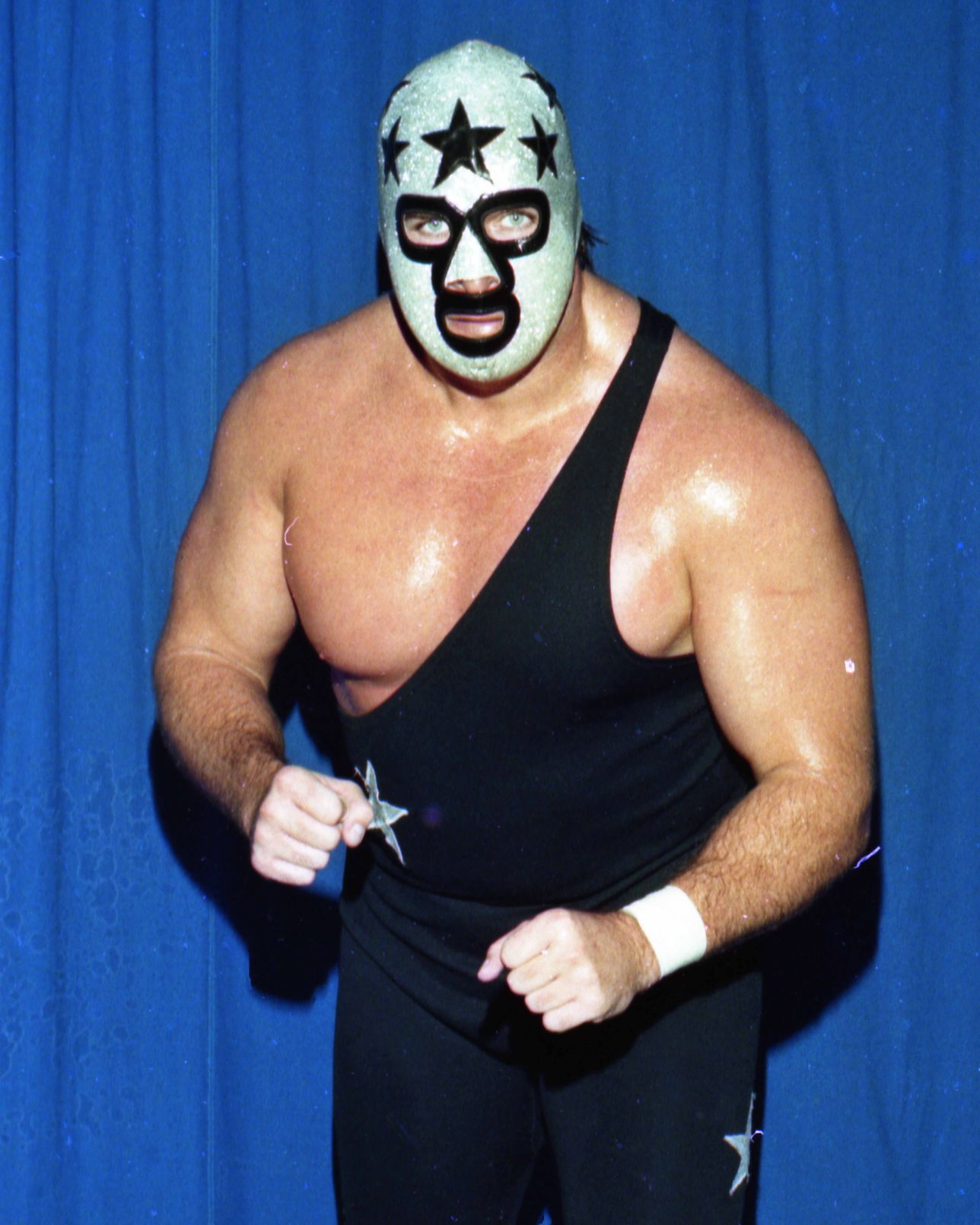 with or without a mask  wrestling great bill eadie was