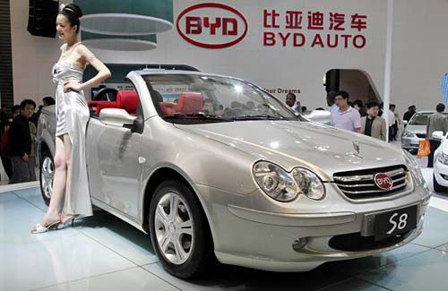Automaker BYD wants to pass Toyota as world sales leader