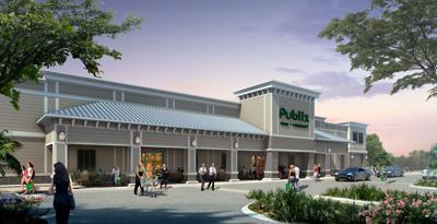 Publix rendering for Point Hope Commons in Cainhoy