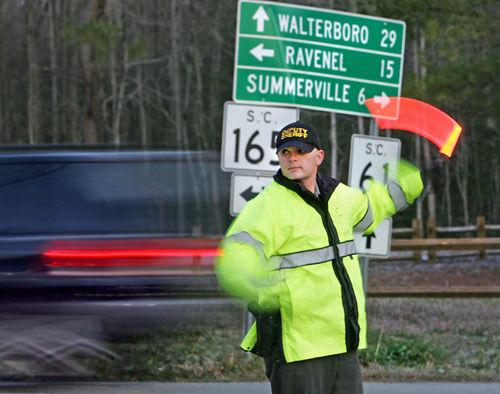 Beware Cooks Crossroads at rush hour