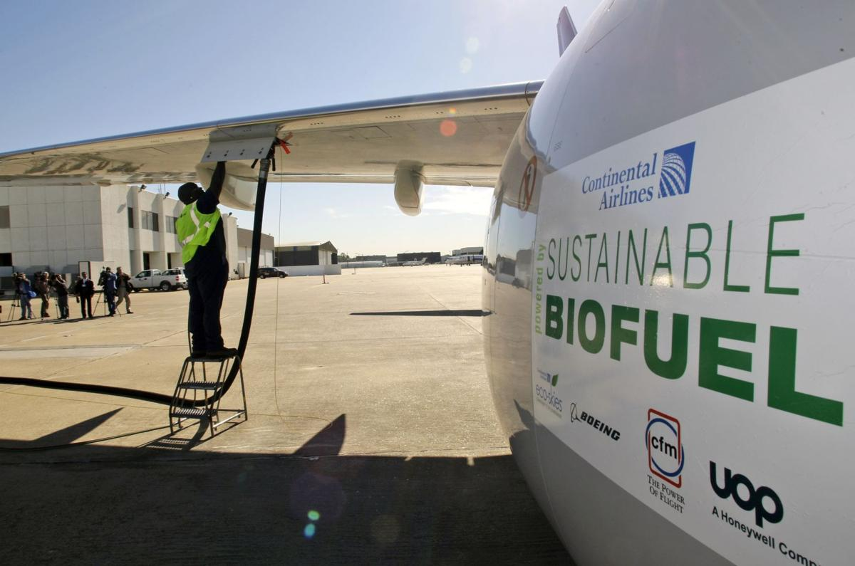 Why airlines keep pushing biofuels: no choice