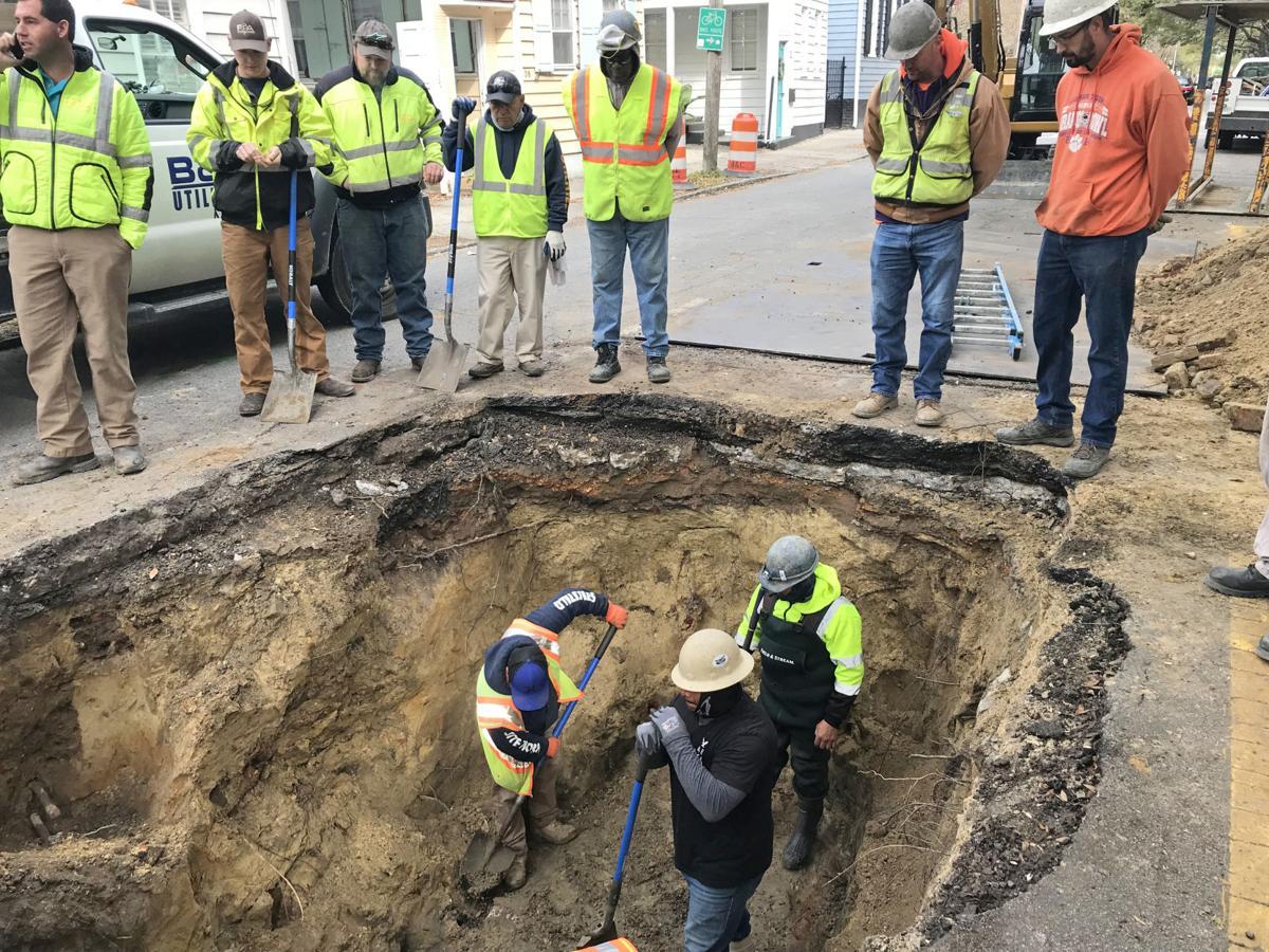 Coming Street brick drainage arch