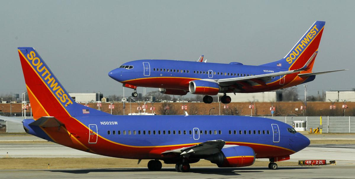 Southwest to add Saturday service between Dallas and Charleston in April