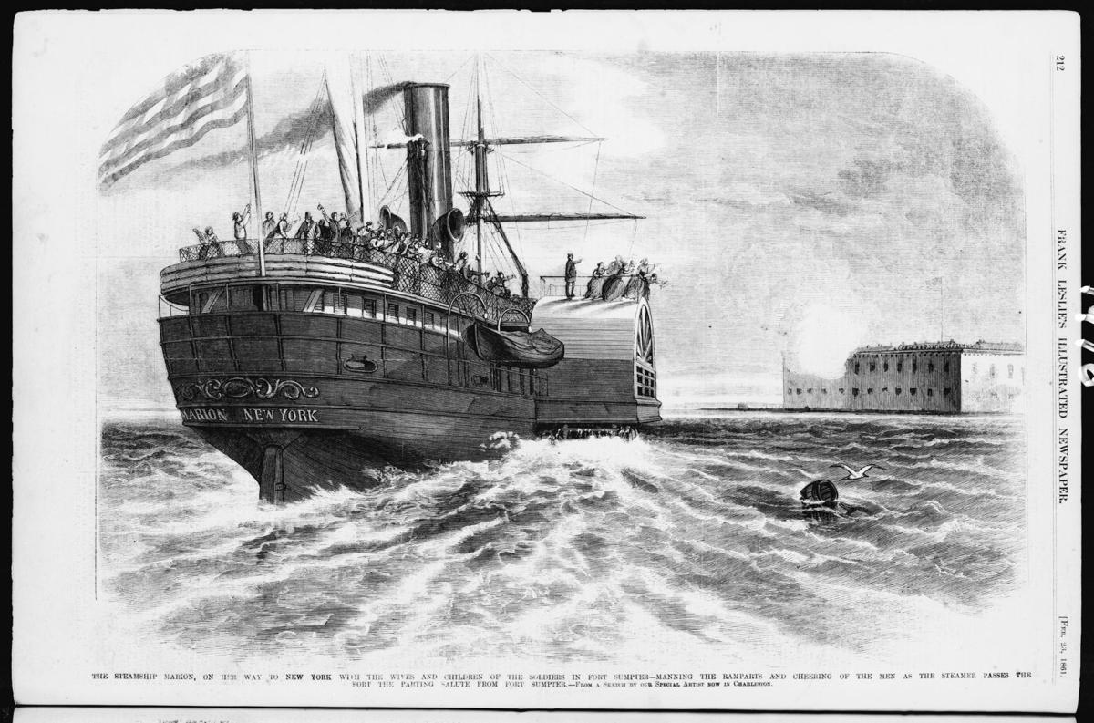 19th century steamship