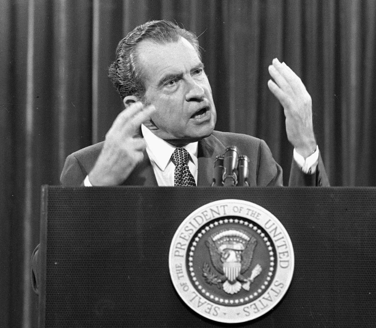 40 years after Watergate: How Nixon's descent began