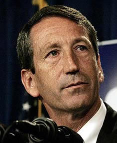 Sanford takes aim at bailouts