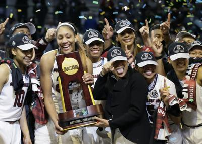 NCAA Mississippi St South Carolina Final Four Basketball
