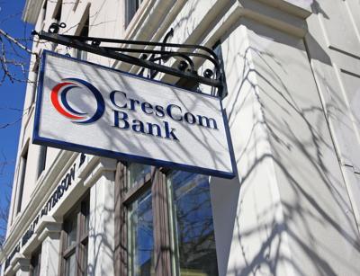CresCom fuels profit gain at Charleston bank owner Carolina Financial