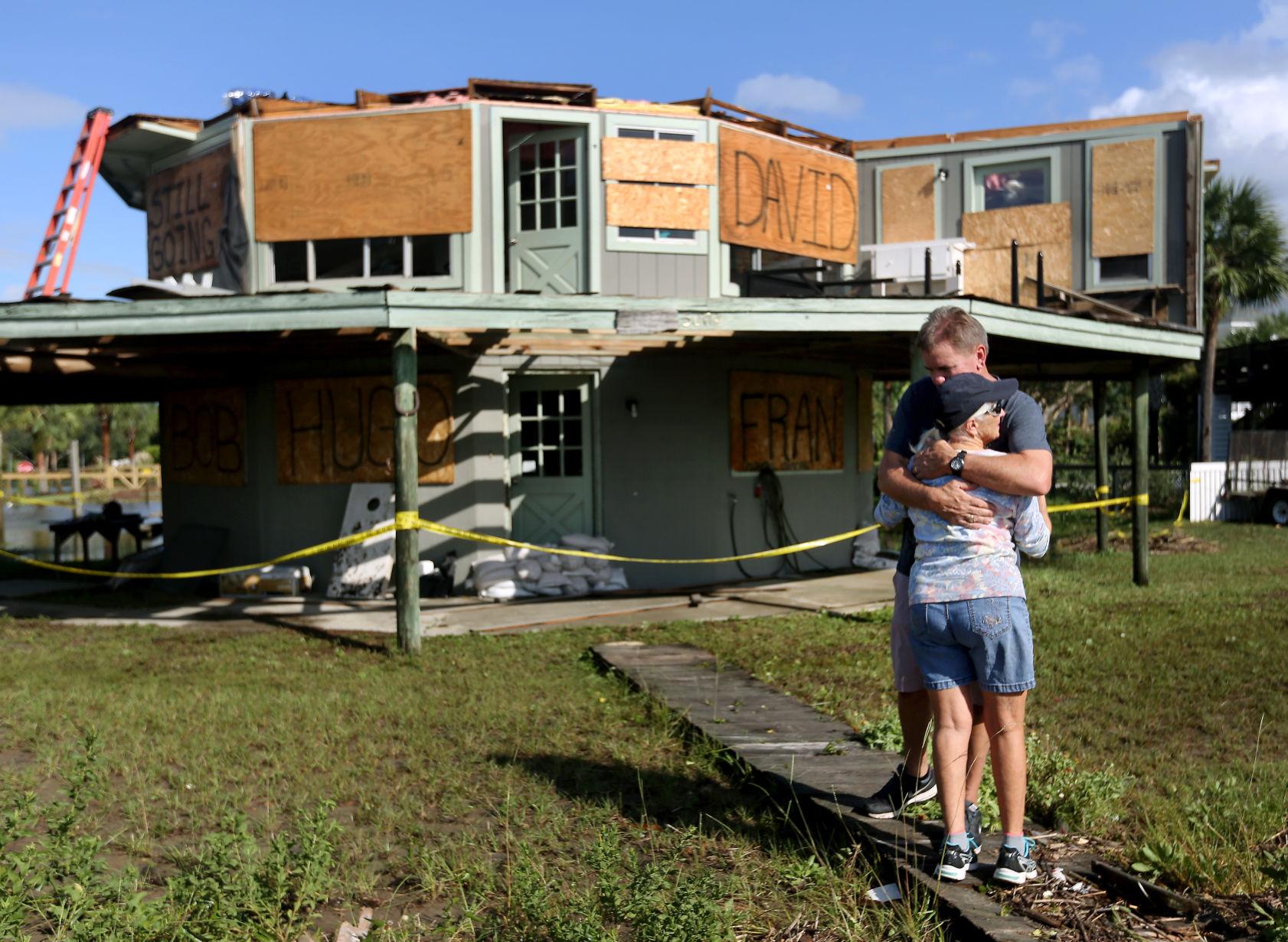 Irma blows roof off iconic octagon house on Sullivan\u0027s Island ...