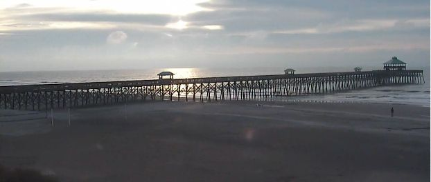 Sunny, warmer but still cool today in Charleston