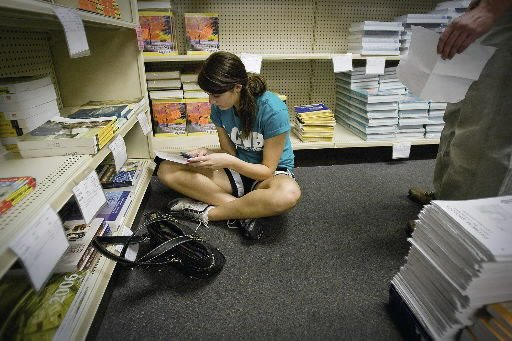 Pay less for college textbooks by shopping before class, buying used, checking for deals