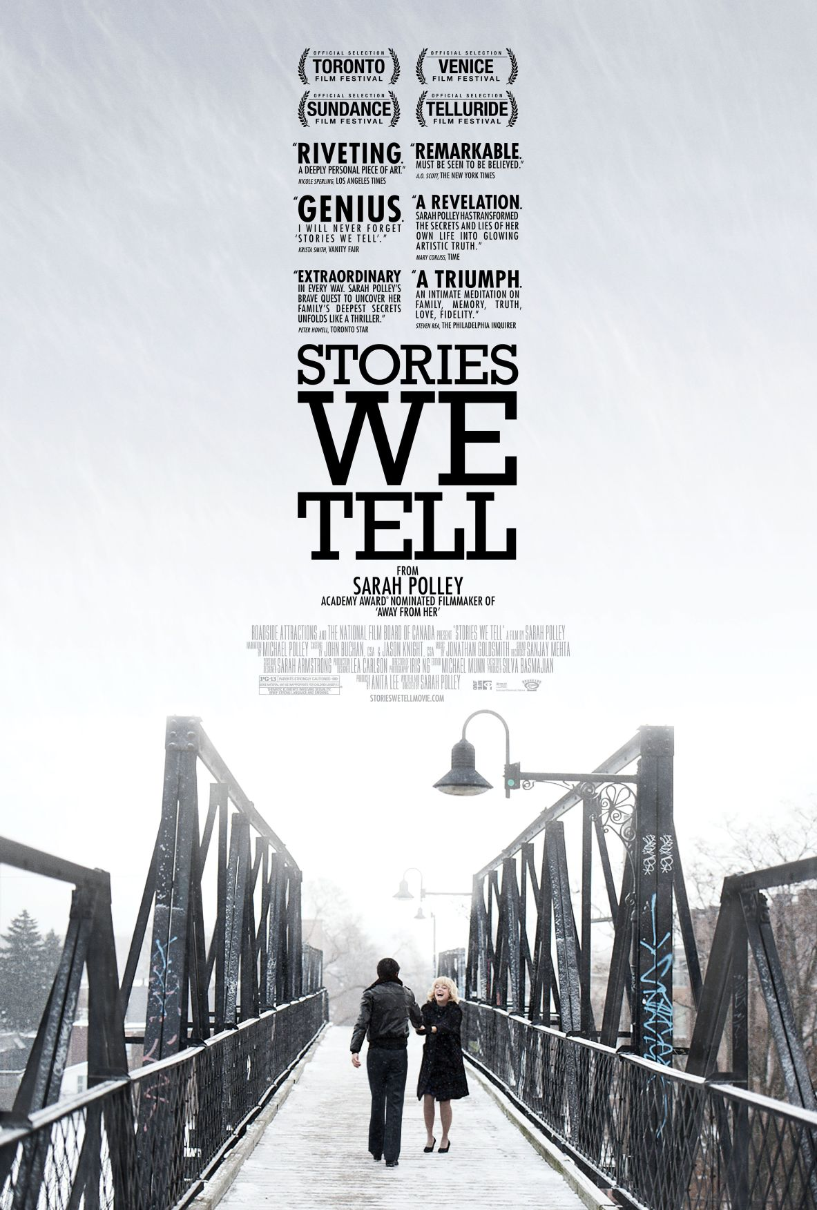 'Stories We Tell' explores layers of myth, memory