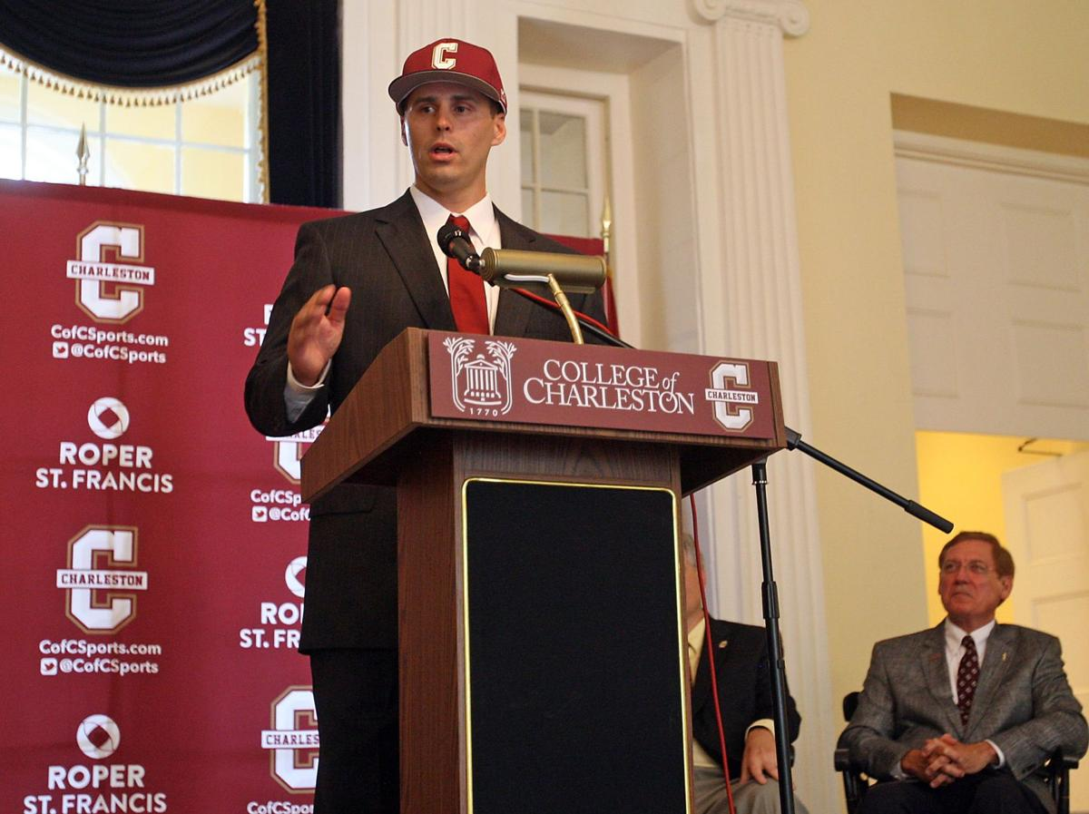 College of Charleston's Matt Heath: 'It's time I became a head coach'