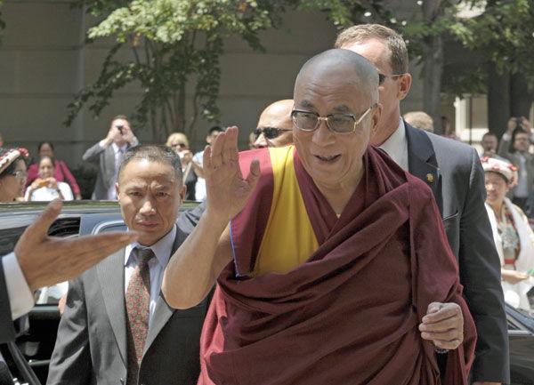 Dalai Lama in D.C. for Buddhist ritual