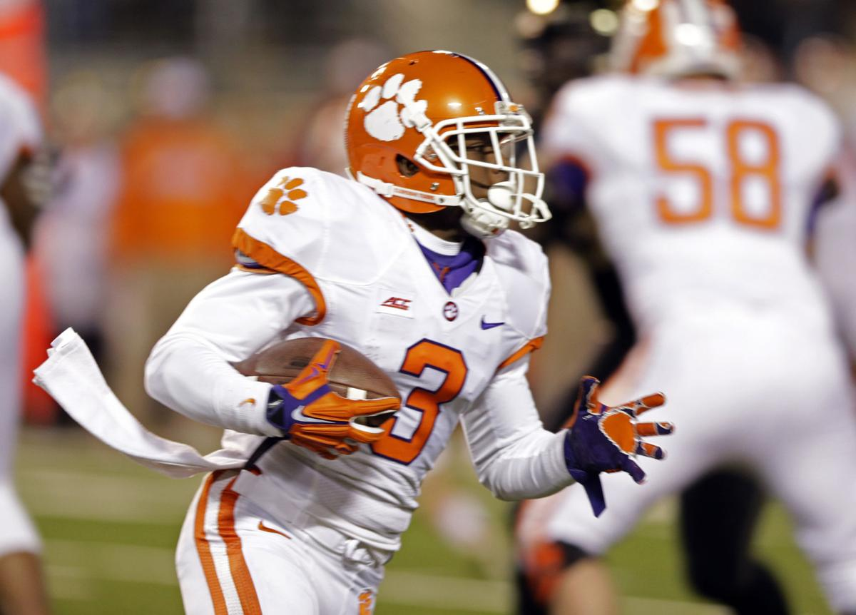 Clemson's scholarship football list, going into 2015 National Signing Day
