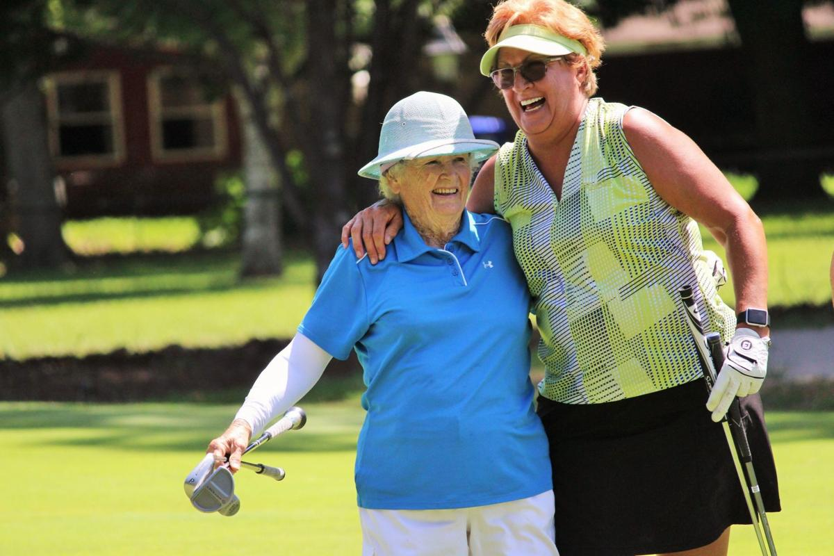 Infinger still golfing at the age of 90