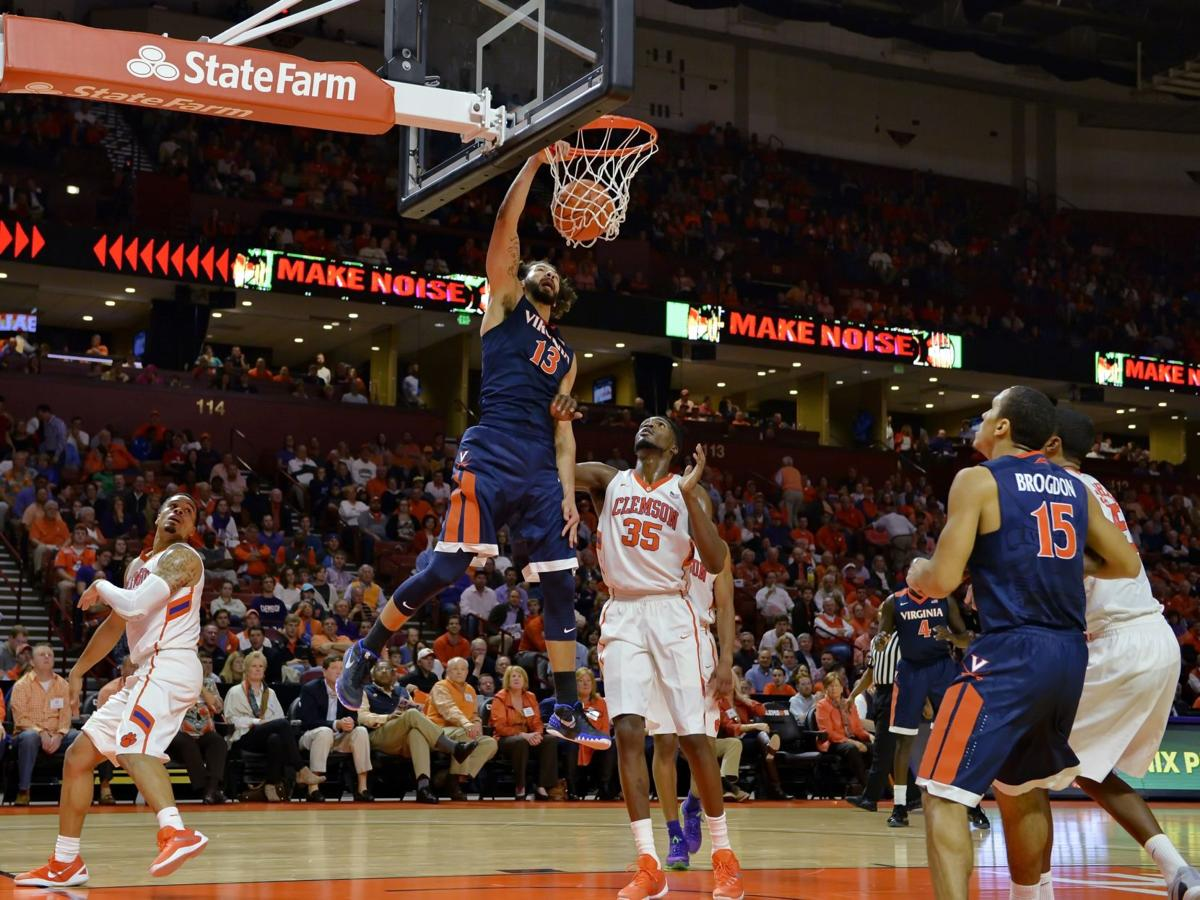 Clemson's Blossomgame explodes for 31, but it's not enough in loss to No. 4 Virginia