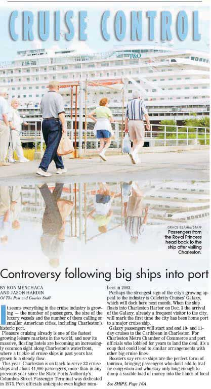 10 years of cruise ship controversy