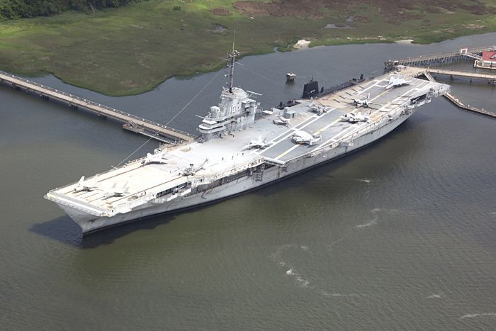 South Atlantic League's Home Run Derby to be held on USS Yorktown