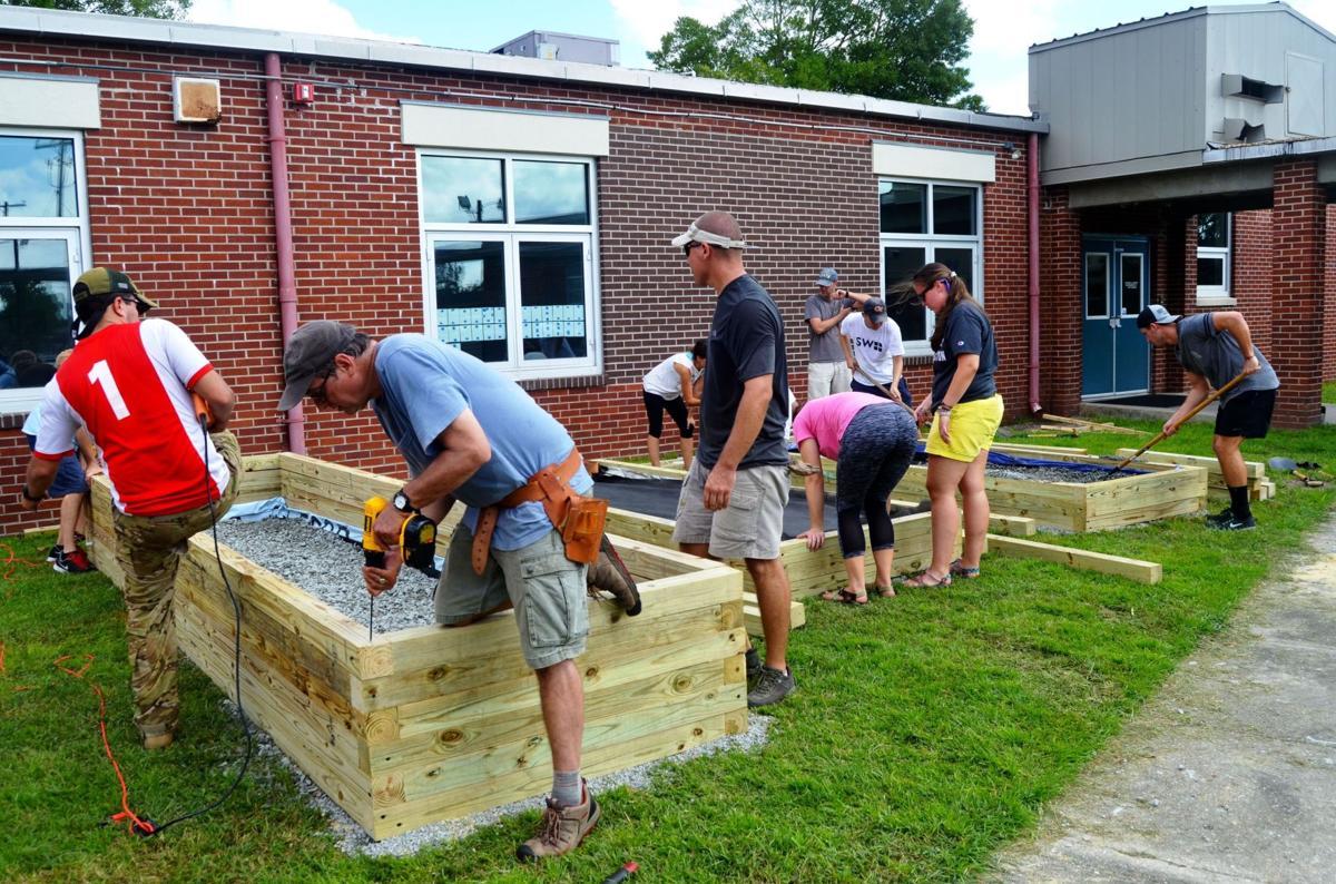 Green Heart, SeamonWhiteside collaborate on three new school gardens
