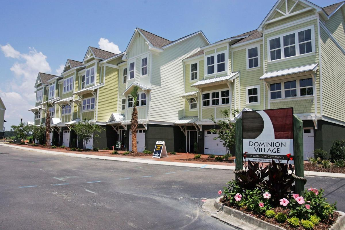 Dominion Village - Alluring creek access and sights mark new, value-priced townhomes in quiet Hanahan setting