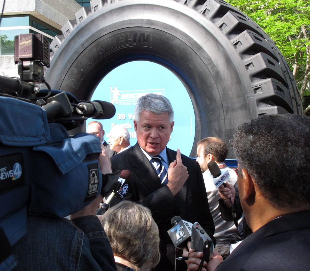 Michelin to add plant in Upstate