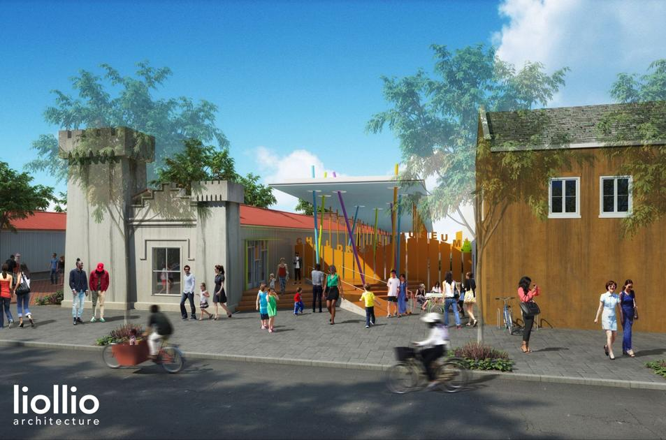 Outdoor 'play pavilion' plans for Charleston children's museum overhaul up for review