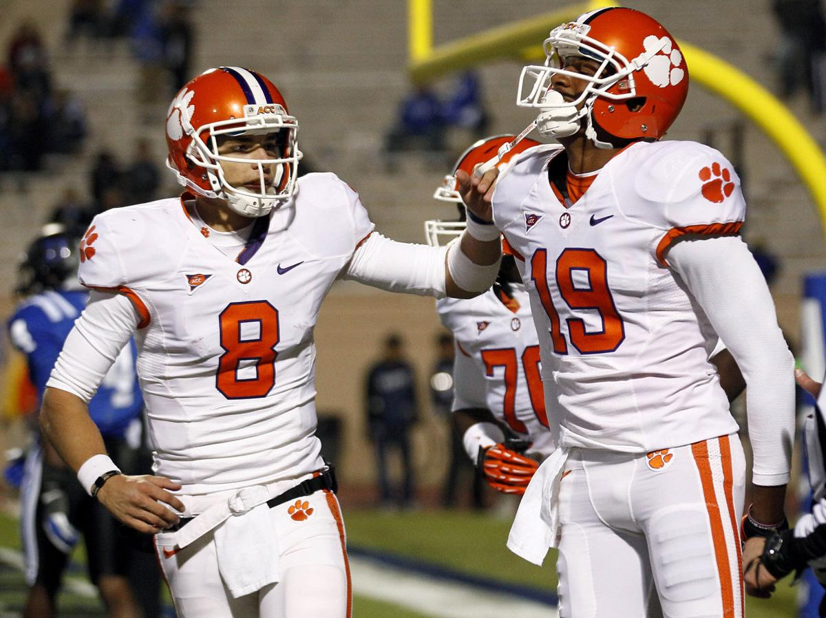 Clemson football players who are springing ahead