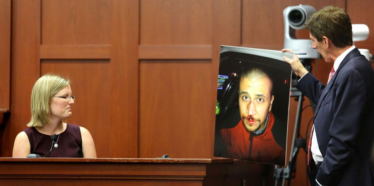 Neighbor testifies about Martin-Zimmerman fight