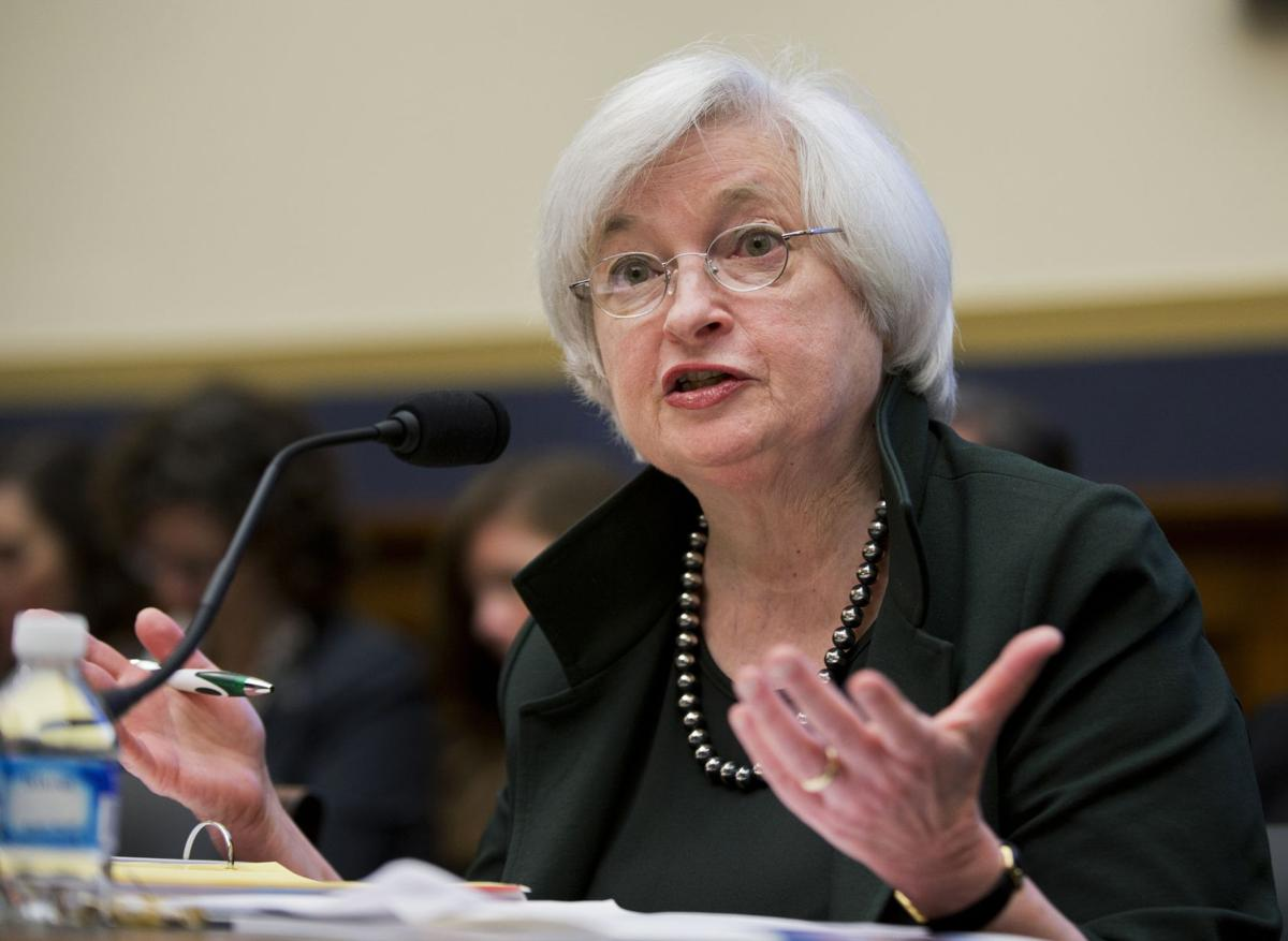 Yellen makes Fed choice on rates a cliffhanger
