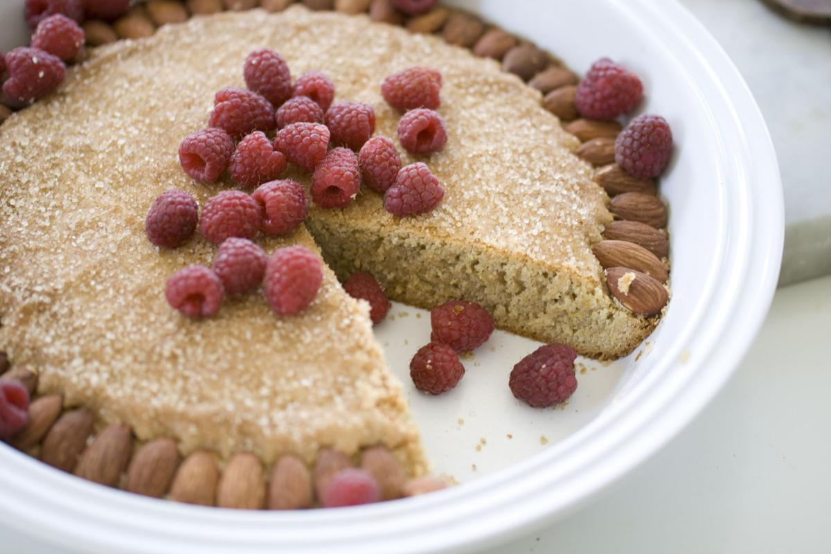 Cake packed with flavors of fall