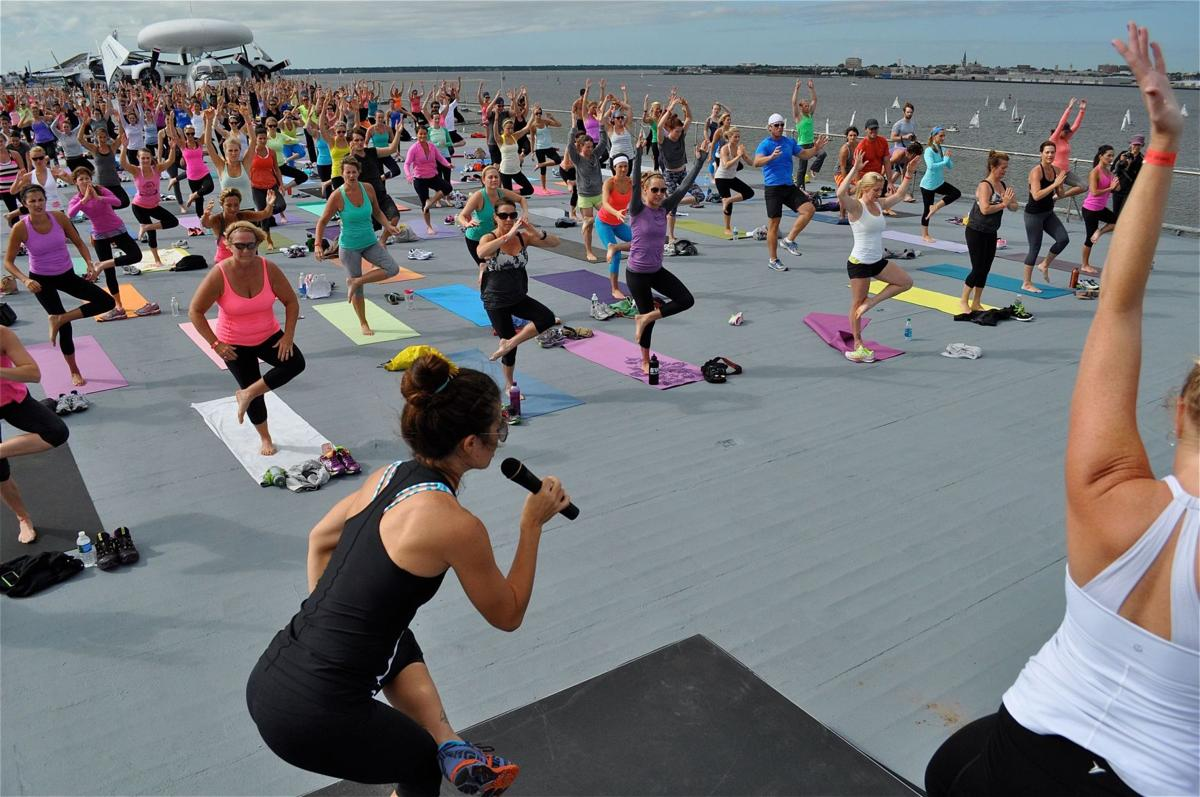 Yoga, climbing, surfing and more this weekend