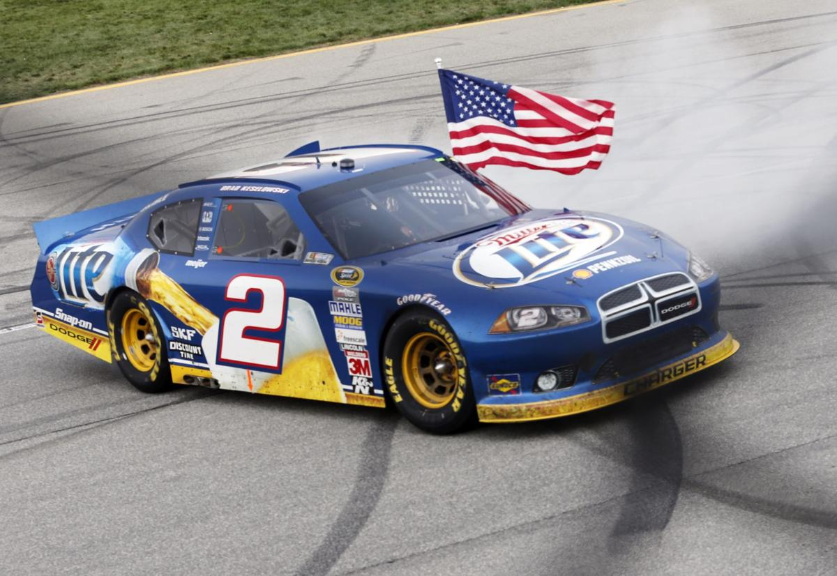 Keselowski wins Chase opener for points lead
