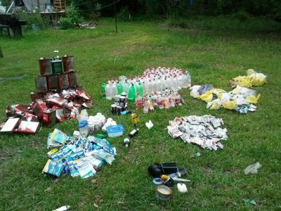 138 'one-pot' meth labs seized from Moncks Corner home, sheriff's office says