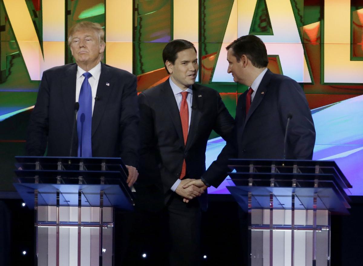 GOP rivals barrel toward Super Tuesday after wild debate