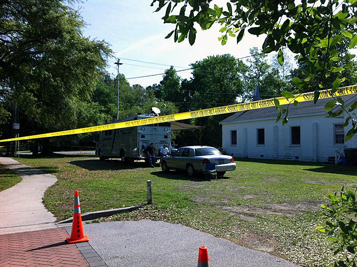 Crews return to West Ashley church in missing woman case