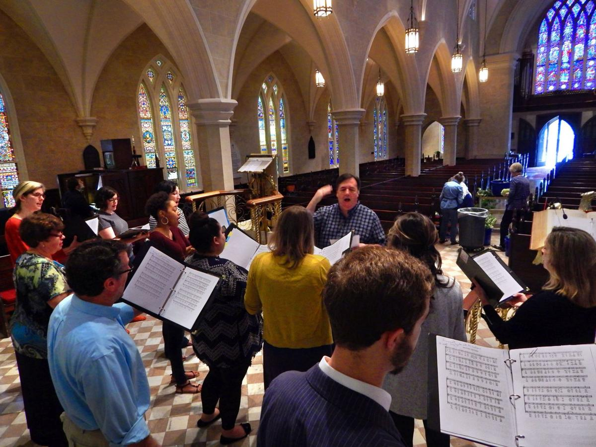 A concert fit for a king Local chamber choir The King's Counterpoint prepares for a coronation