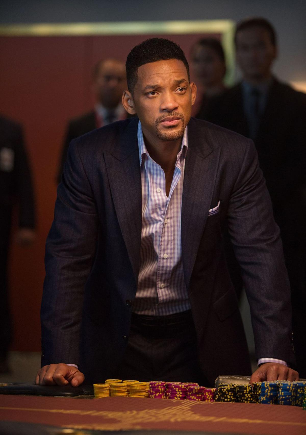 Will Smith learns to 'quiet the warrior'
