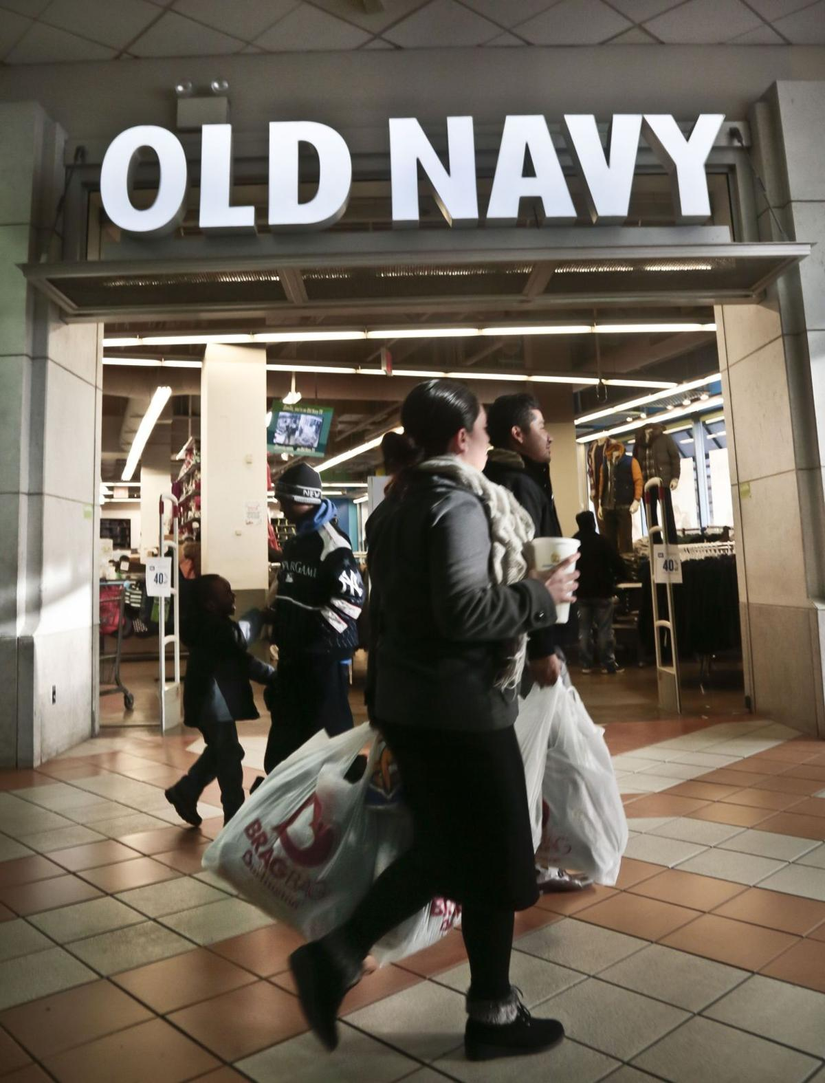 Old Navy helps boost Gap key sales figure; stock soars