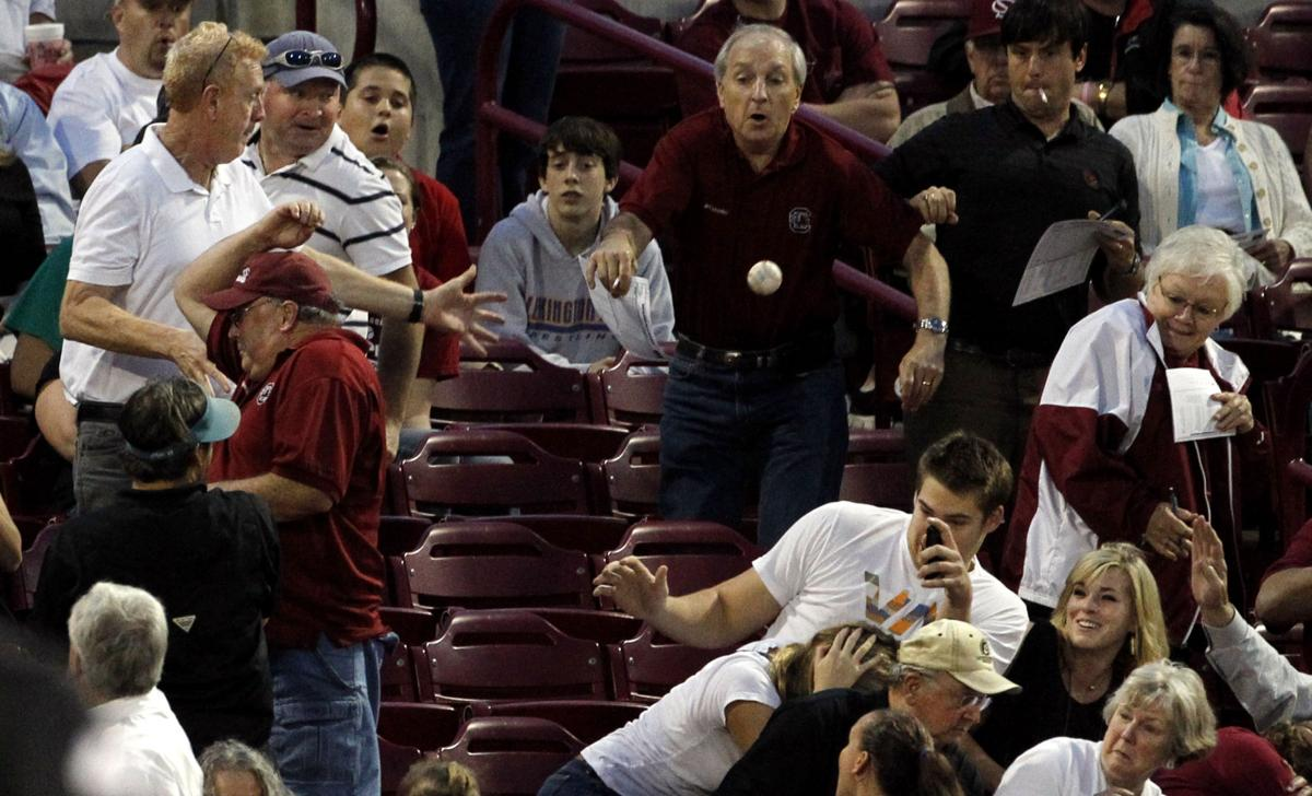 Ballparks playing catch-up on foul balls