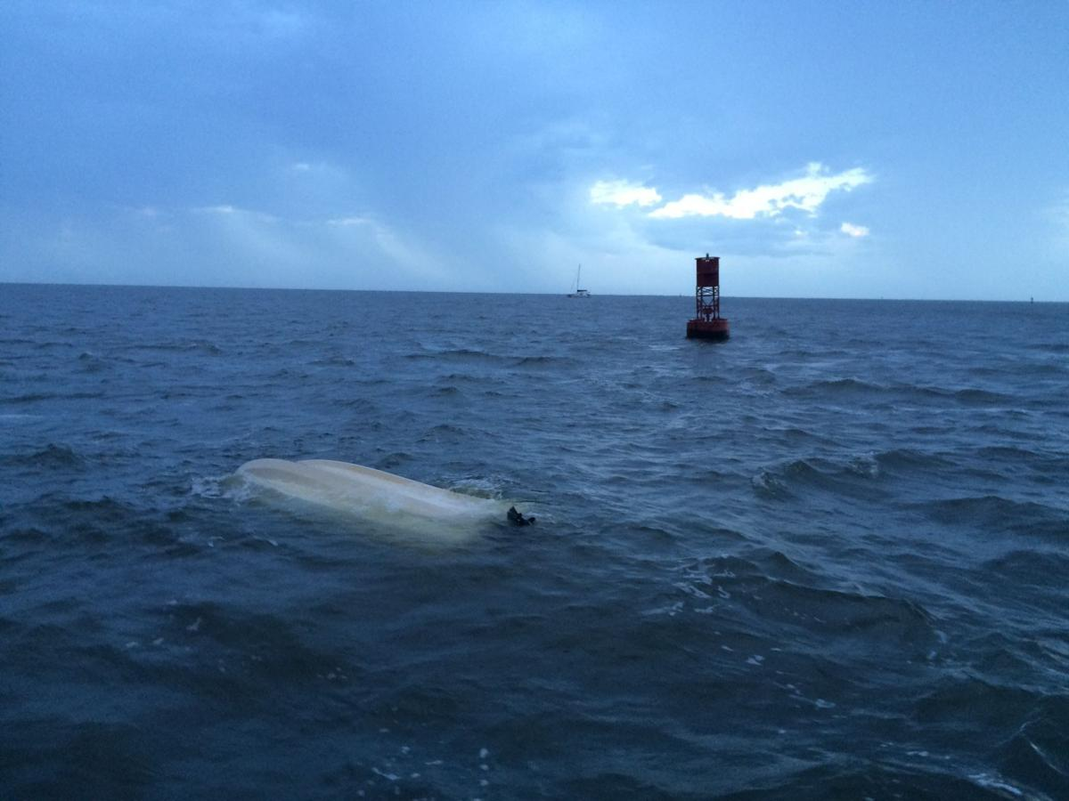 Two men rescued near Sullivan's Island