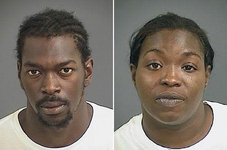 Man, woman held in Mount Pleasant robberies