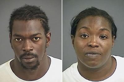Man, woman held in Mount Pleasant robberies