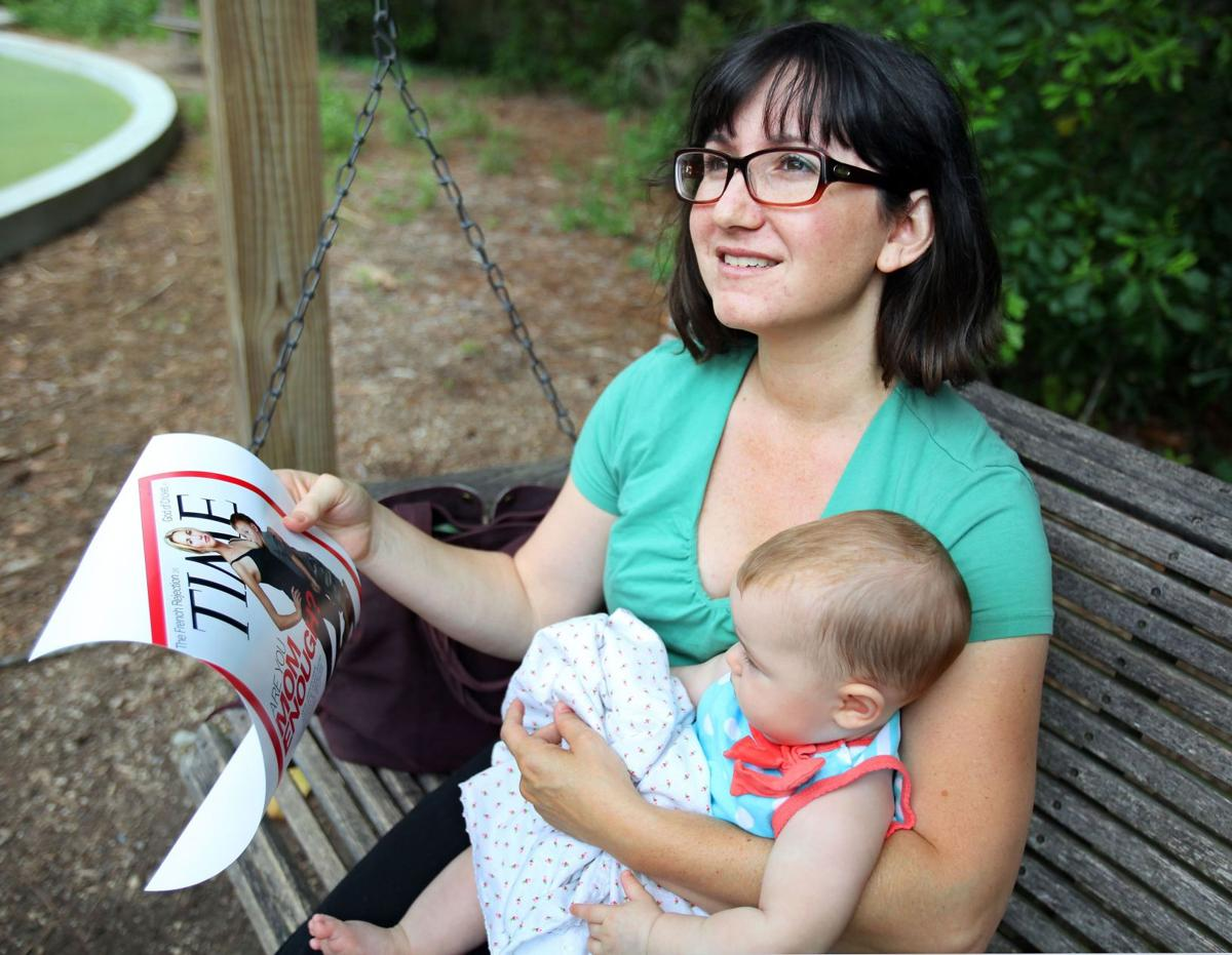 'Time' for debate 'Extreme breast-feeding' draws strong reactionsTime cover masks problem: Too few children breast-fed