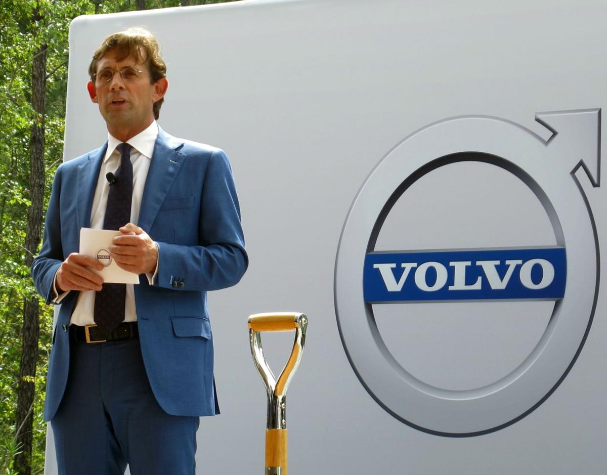Lex Kerssemakers drives Volvo