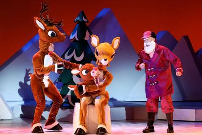 Rudolph the Red-Nosed Reindeer at the Township