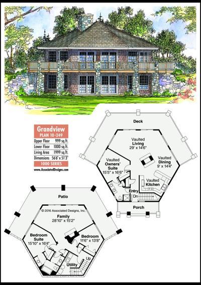 This week's house plan Grandview 10-249