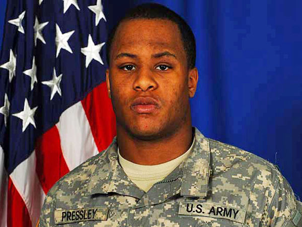 Crowd likely at soldier's service: Army Pvt. Pressley died in Afghanistan